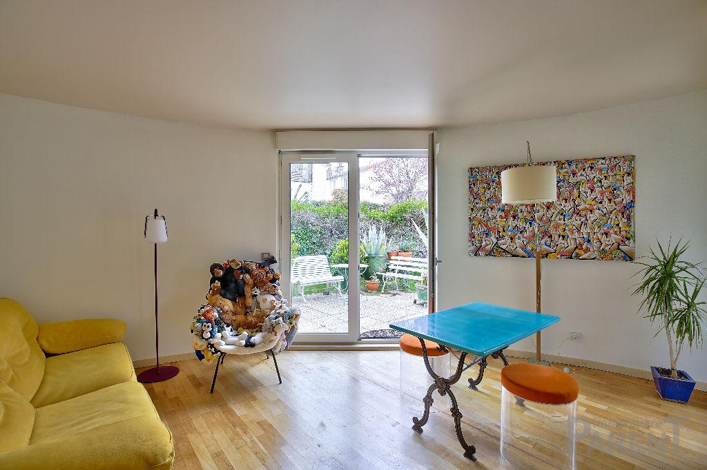 Ile St Germain 4 pièce(s) 112.57 m2 avec 128 m² de Jardin
