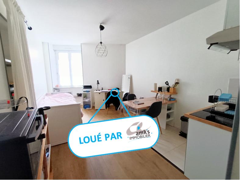 Appartement  1 pièce(s) 17.12 m² Nantes centre ville