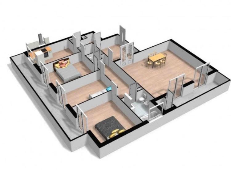 Appartement Saint Germain En Laye 5 pièce(s) 109 m2