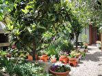 AGDE Haut de maison 3 pièces, jardin, garage, dépendance