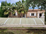 AGDE, Villa 3 chambres grand terrain avec piscine
