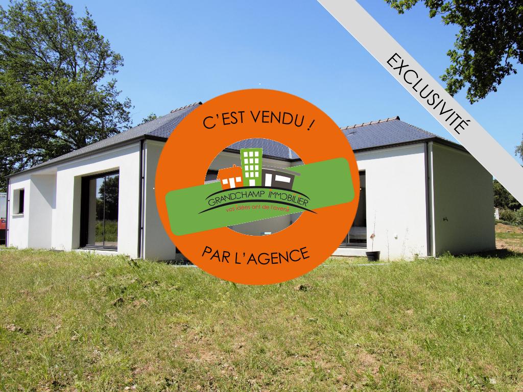 Maison plain-pied récente 2019 - 3 ch dont une suite parentale sur terrain de 630 m² sans vis-à-vis