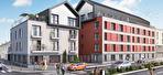 Dans une résidence étudiante à vendre à Rennes appartement T4 de 87 m2 en duplex en derniers étages