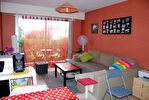 A 10 mn de Rennes, à louer appartement T2 de 35 m2 en rez-de-chaussée avec une petite terrasse dans le centre de Vezin le Coquet
