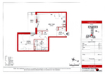 Dans une résidence sénior à Dinan à vendre grand appartement T2 de 48 m2 au 1er étage exposé sud