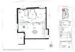 A vendre appartement T3 de 64m2 au 1er étage avec un balcon