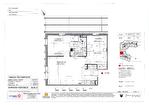 Dans une résidence sénior au coeur de la ville d'Angers à vendre appartement T3 de 57 m2 au 2ème étage exposé ouest