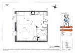 Dans une résidence étudiante à vendre à Rennes appartement T2 de 34 m2 exposition ouest proche du campus de Beaulieu