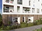 A 15 mn au sud de Rennes, à Saint Jacques de la Lande à vendre un appartement T3 en rez-de-chaussée avec une terrasse et un jardinet