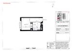 A toute proximité du campus de Beaulieu à Rennes à vendre studio de 21 m2 exposé ouest dans une résidence communautaire