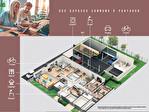 A toute proximité du campus de Beaulieu à Rennes à vendre studio de 22 m2 au 2ème étage dans une résidence communautaire