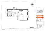 A 5 mn du campus universitaire de Beaulieu à Rennes à vendre appartement T2 de 41 m2 avec un parking